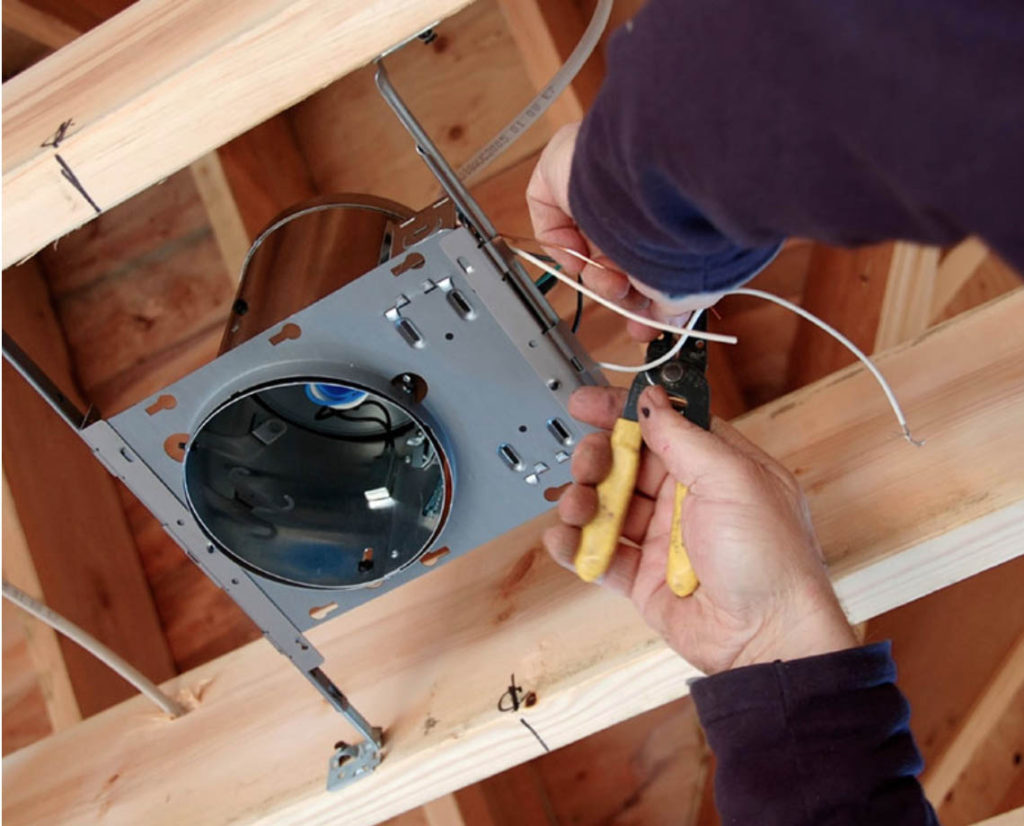 Prolec Norwich Commercial Downlight Install