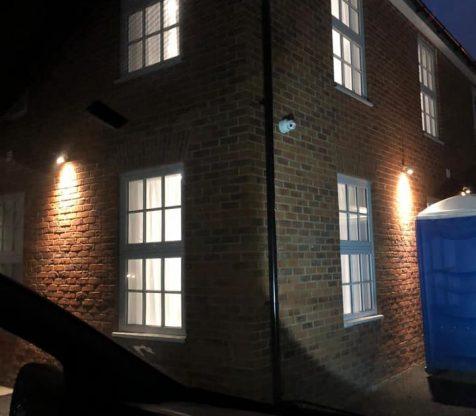 CCTV and Outdoor lighting installation